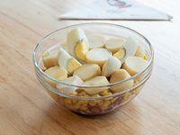 771 - Ensalada de palmitos, choclo, remolacha y huevo