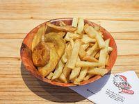 623 - Papas y batatas fritas