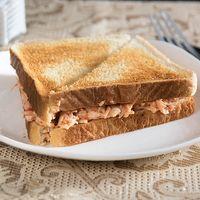 Sándwich ave pimiento