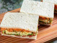 Sándwiches vegetarianos de miga (12 unidades)