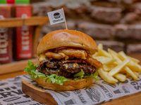 American XXL burger