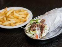 Promo 1 - Shawarma + papas fritas medianas