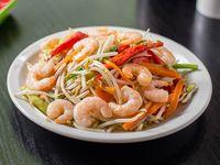 33 - Chop suey de camarones