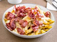 Papas fritas bacon (para 2 personas)