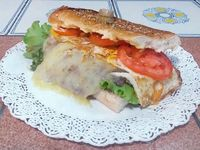 Sándwich de lomito especial