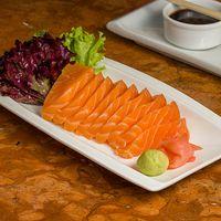Sashimi de salmón (9 cortes)