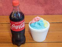Combo - 1/4 kg + Coca Cola 600 ml
