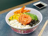 Poke bowl de salmón