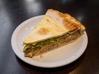 Tarta de zapallitos (porción)