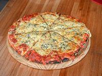 Pizzeta 4 quesos