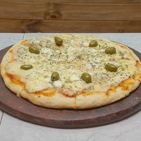 Pizza con roquefort