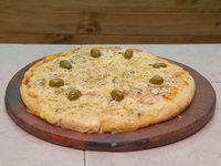 Pizza triple queso