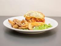 Sándwich brioche de pollo (mediano)