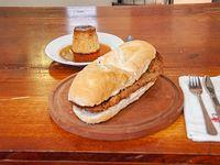 Promo - Sándwich de milanesa + postre