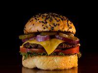Old school burger
