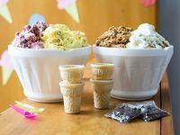 Promo Rey de Reyes - 2 kg de helado + 6 vasitos