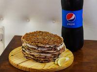 Promo 1 - 12 lehmeyun Clasicos + Gaseosa Pepsi 1.5 L