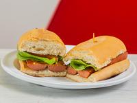 Emparedado de Hotdog