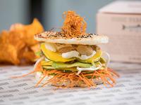 Sushi Burger vegetariana