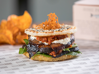 Sushi Burger mediterránea