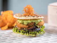 Sushi Burger crunchy gump
