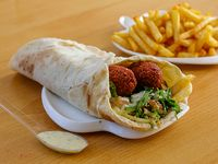 Shawarma de kippe con guarnición a elección