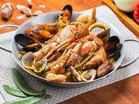 Paella Mixta con Langosta