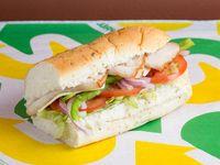 Sándwich jamón de pavo (15 cm)