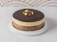 Torta helada de almendras (apto para celíacos)