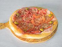 Pizza napolitana con jamon