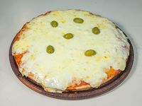 Pizza con doble muzzarella
