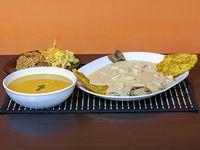 Trucha con Camarones