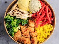 Bowl de Pollo Árabe