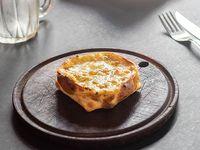 Canastita de brócoli y queso azul