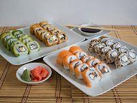 Menú 10 - 40 piezas de sushi C (20% Off)