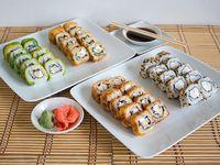 Menú 9 - 40 piezas de sushi B (20% Off)