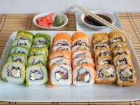 Menú 6 - 30 piezas de sushi C (20% Off)