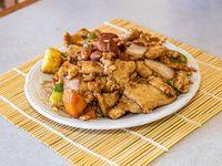 20 - Pollo con almendras