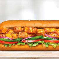 Sándwich de pollo estilo teriyaki (15 cm)