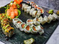 Tabla 40 piezas de salmón