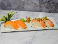 Nigiris de salmón (4 piezas)