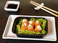 Geisha salmón