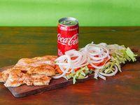 Combo - Pechuga grillé + ensalada mixta + Coca Cola 220 ml
