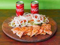 Combo - 2 pechuga grillé + ensalada mixta + 2 Coca Cola 220 ml
