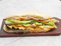 Sándwich lomito argentino
