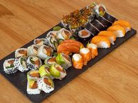 Combo Eilat (100 % salmón premium) - 40 piezas