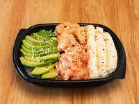 Ensalada de sushi dúo