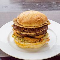 Hamburguesa gourmet Doble Mariachi