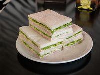 6 Sándwiches triples de jamón y lechuga