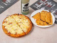 Promo 1 - Pizzeta muzzarella + 2faina + Pepsi 1.25 L